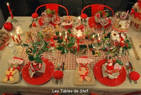 decoration de table noel enfant biospherisfr noel