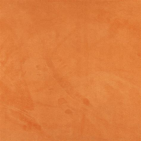 orange upholstery fabric light orange microsuede suede upholstery fabric by the yard