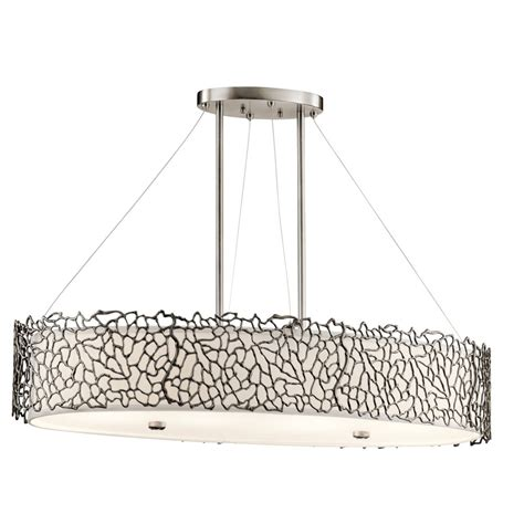 kitchen island hanging ceiling pendant in pewter