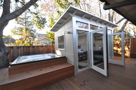prefab studio shed 8x14 studio shed studio home office modern