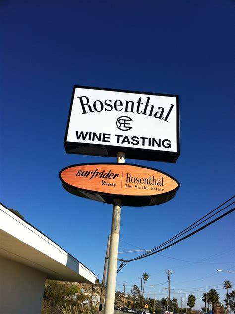 rosenthal wine bar patio malibu new tasting room sign on pch yelp