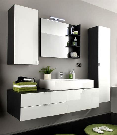 Badezimmer Set Modern by Bad M 246 Bel Badezimmer Set Weiss Hochglanz Und Grau