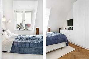 Kleines Schlafzimmer Mit Dachschräge : 55 dachschr ge ideen m bel geschickt im raum platzieren ~ Bigdaddyawards.com Haus und Dekorationen