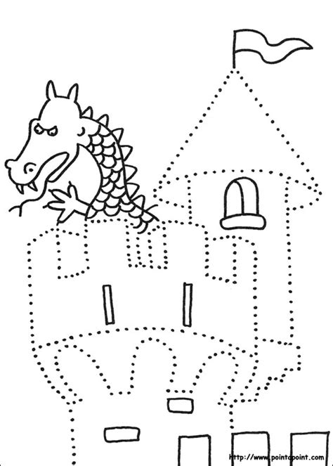 crafts actvities and worksheets for preschool toddler and 230 | preschool castle dot to dot activity page worksheets