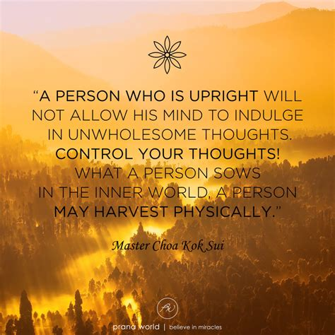 Control your Thoughts - Prana World