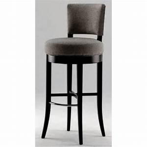 Chaise De Bar : chaise de bar tissu gris maga ~ Farleysfitness.com Idées de Décoration