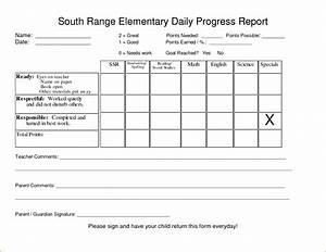 5+ student progress report template - bookletemplate.org