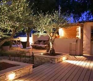 Eclairage Exterieur Jardin : deco lumiere exterieur objet de decoration de jardin ~ Melissatoandfro.com Idées de Décoration