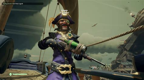 I Met A Genuine Pirate Legend In Sea Of Thieves