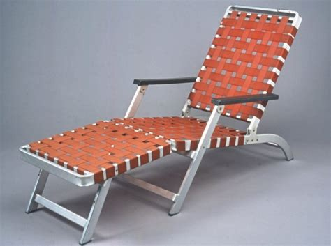 museum decorative arts folding lounge chair