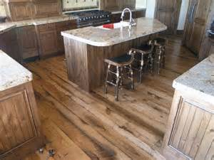 Reclaimed Wood Flooring Kitchen