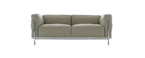 canapé lc3 le corbusier lc3 sofa and armchair le corbusier jeanneret perriand