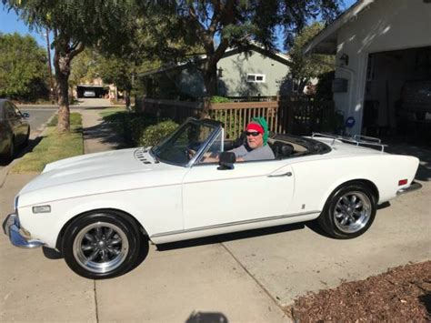 1973 Fiat 124 Spider by 1973 Fiat 124 Spider For Sale Photos Technical