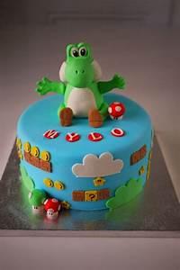 Super Mario Kuchen : yoshi cake by kikikaikai on cake central boy cakes kuchen kindergeburtstag kuchen ~ Frokenaadalensverden.com Haus und Dekorationen