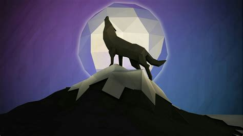 Low Poly Animal Wallpaper - low poly wolf wallpaper wallpaper studio 10 tens
