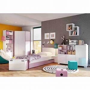 Mobilier Chambre Enfant : chambre girly mobiler d 39 enfant mobilier design ~ Teatrodelosmanantiales.com Idées de Décoration