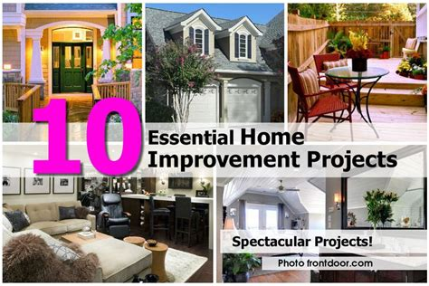 home improvement projects 10 essential home improvement projects