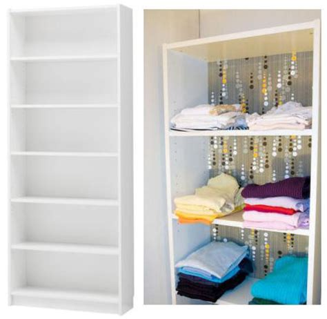 Bookcase For Clothes by 5 Alternative Ways To Use Bookshelves