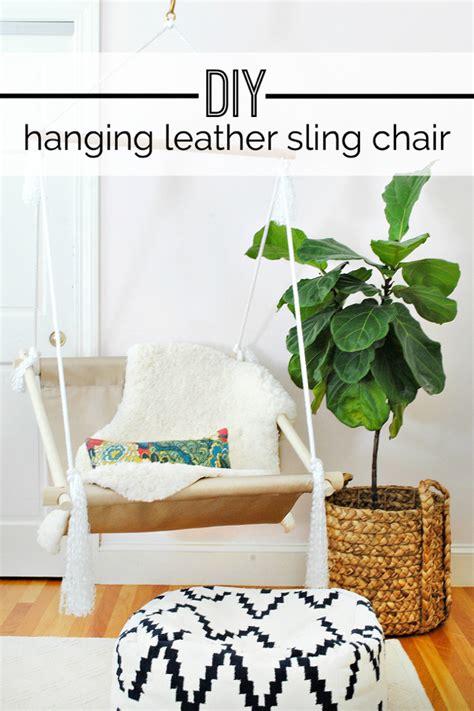 diy hanging chairs   add  bit  fun   house
