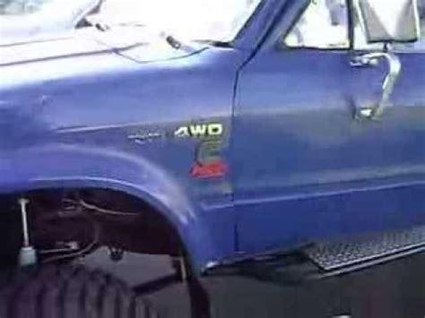 4bt cummins toyota cummins diesel powered toyota tacoma 4x4 mud truck on 44