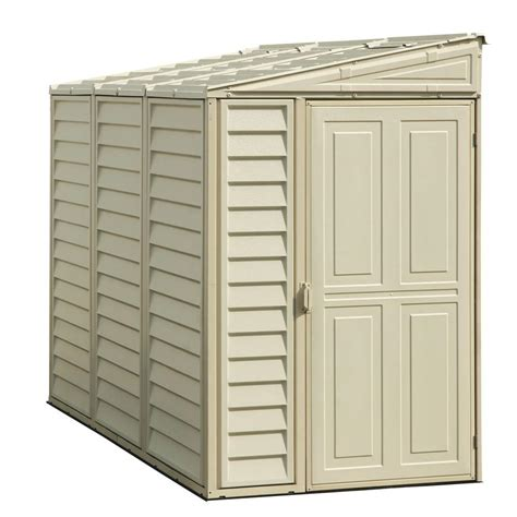 4x8 Wood Storage Shed by Duramax Building Products Sidemate 4 Ft X 8 Ft Vinyl