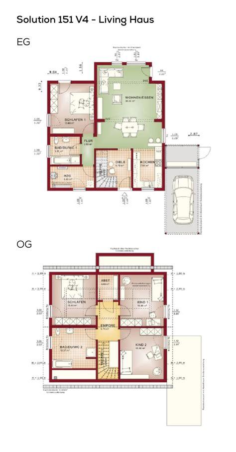 Hausgrundrisse Ohne Keller by Grundriss Einfamilienhaus Mit Satteldach 5 Zimmer 150