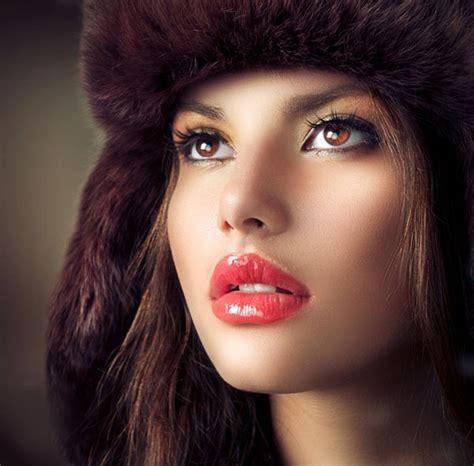 Russian Women Sensual Mouth