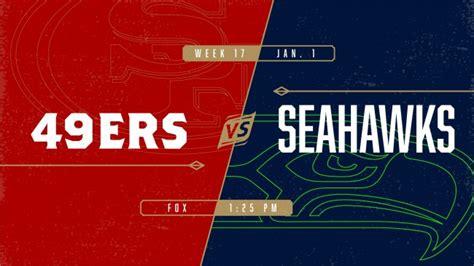 ers  seahawks levis stadium
