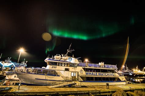 Northern Lights By Boat by Heli Northern Lights By Boat Nor 240 Urflug Helicopter Tours