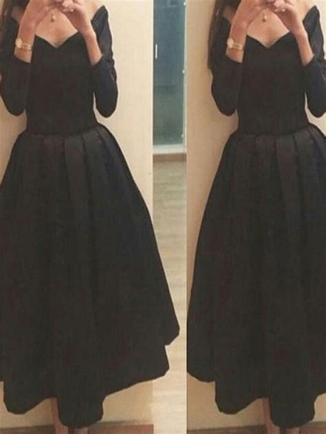 long sleeve black homecoming dressessimple homecoming