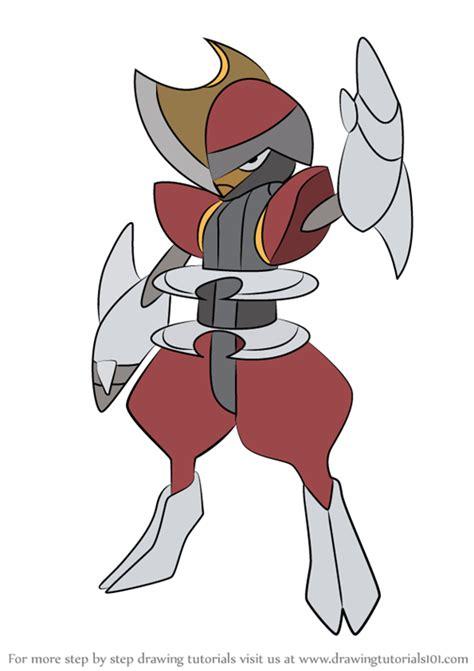learn   draw bisharp  pokemon pokemon step