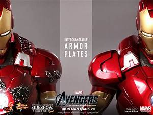 Marvel Iron Man Mark VII Sixth Scale Figure by Hot Toys ...