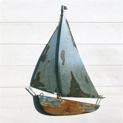 Wooden Sailboat Wall Decor by Nautical Yacht Wall Coastalhome Co Uk Coastal Living