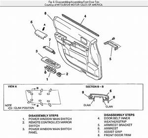 Service Manual  Remove Windshield From A 2007 Mitsubishi