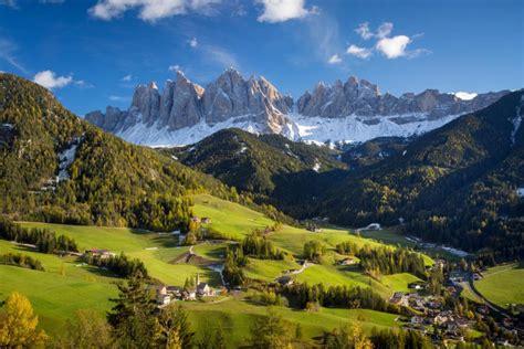 Val Di Funes Dolomites Mural Brian Jannsen Murals