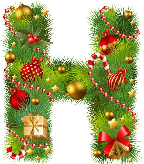 letter alphabet fir pine family  christmas
