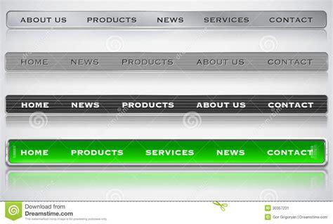metallic web bars stock image image