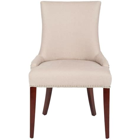Safavieh Dining Chair by Safavieh Becca Taupe Linen Dining Chair Mcr4502a The