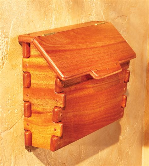 wooden wooden mailbox plans   plans