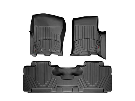 weathertech floor mats lincoln navigator weathertech floor mats floorliner for lincoln navigator 2011 2017 ebay
