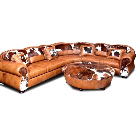 western leather furniture texas ranch leather sectional