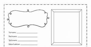 Steckbriefvorlage & Steckbriefmuster
