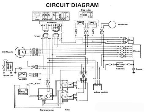 Electric Golf Cart Wiring Diagram Fuse Box