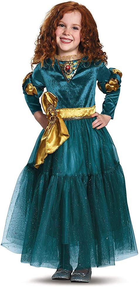 Disney Princess Merida Brave Deluxe Girls' Costume ...