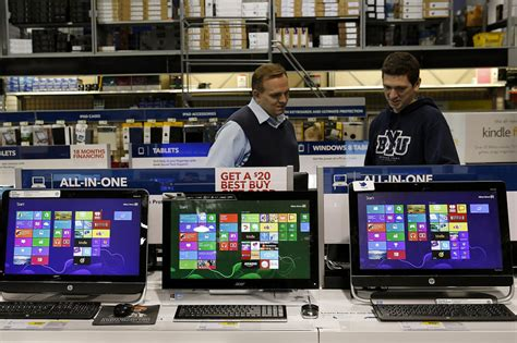 best buy computer computer sales in free fall wsj
