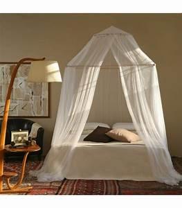 Lit Une Place : tina moustiquaire pour lit une place et demi une ouverture grigolite ~ Teatrodelosmanantiales.com Idées de Décoration