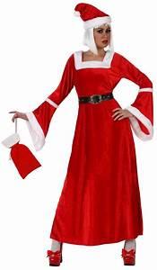 Déguisement Mère Noel Femme : d guisement de m re no l costume rouge femme pas cher f te de fin d 39 ann e ~ Melissatoandfro.com Idées de Décoration