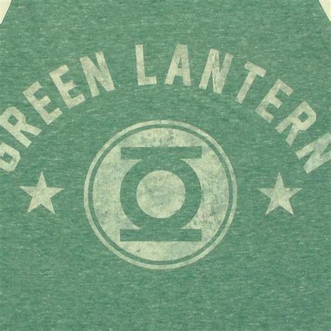 green lantern name logo tank top