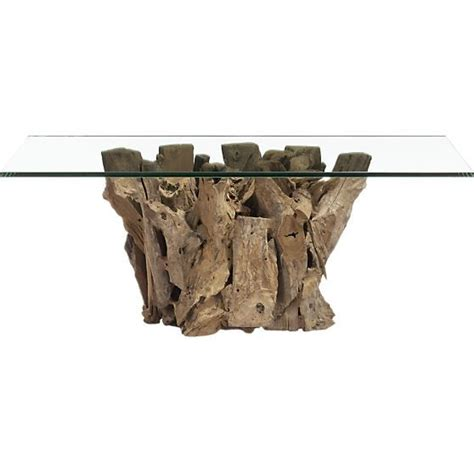 Driftwood Coffee Table  Casual Cottage
