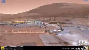 human Mars: HD images of NASA's base on Mars, 2117, a ...